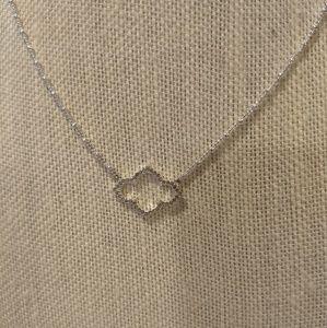 Stella & Dot Pave Arabesque necklace